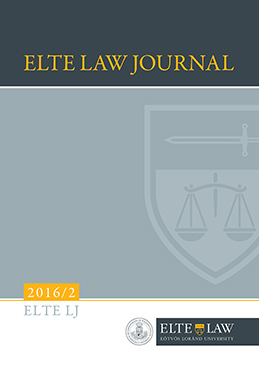 ELTE Law Journal 2016/2