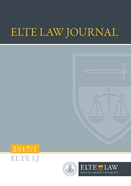 ELTE Law Journal 2017/1