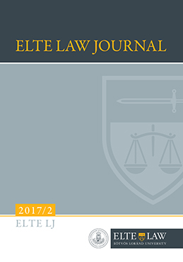 ELTE Law Journal 2017/2