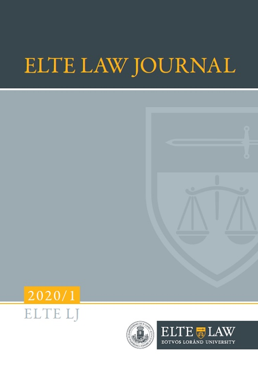 ELTE Law Journal 2020/1